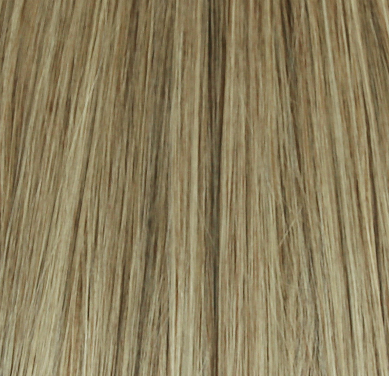 18 Dirty Blonde Clip In Hair Extensions 120g To 380g 20 22 24